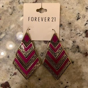 Forever 21 statement earrings